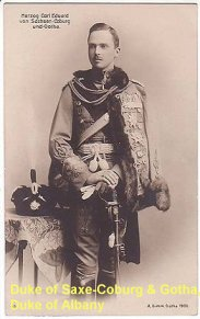 Duke of Saxe-Coburg and Gotha, Duke of Albany
