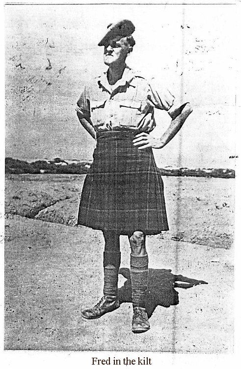 Fred in the Kilt