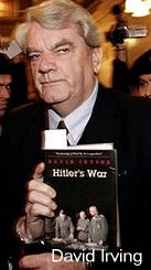 David Irving, holding his own book