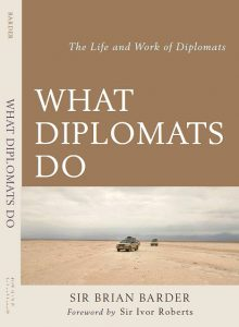 What Diplomats Do: paperback cover