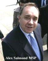 Alex Salmond MSP, SNP leader