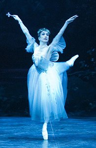 Simone Clarke, principal dancer with the ENB